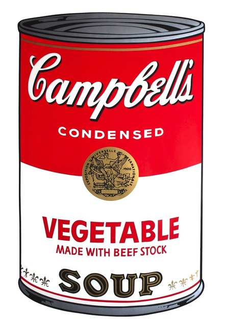 Andy Warhol, 'Campbell's Soup I: Vegetable (FS II.48)', 1968, Print, Screenprint on Paper, Revolver Gallery