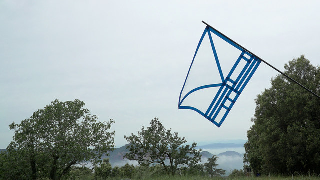, 'Zero Flag #1,' 2018, Galeria Carles Taché