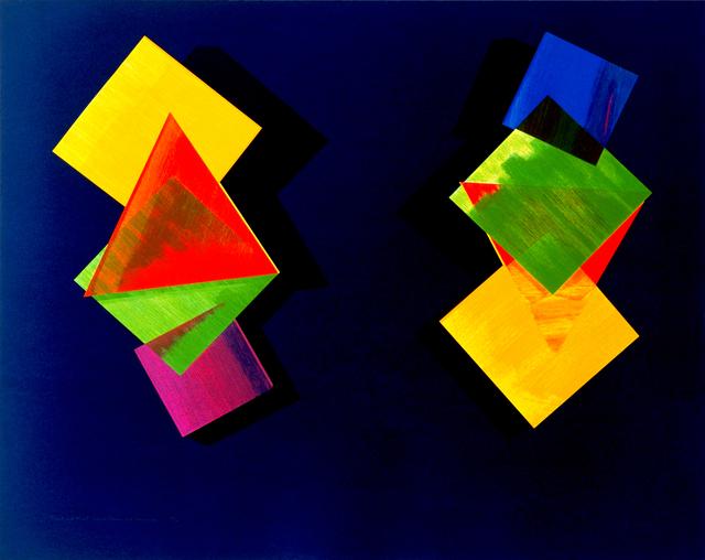 Dorothea Rockburne, 'Mozart and Mozart Upside Down and Backwards', 1993, Lincoln Center Editions