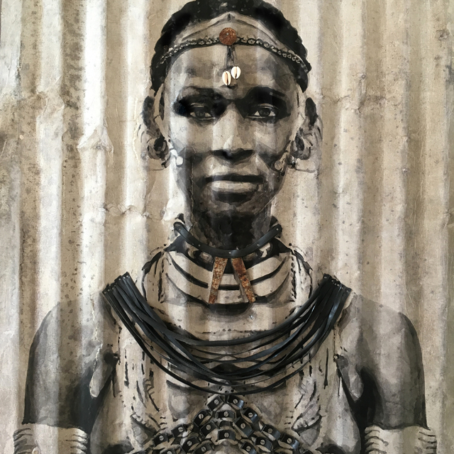 , 'Jacqueline,' 2018, LouiSimone Guirandou Gallery