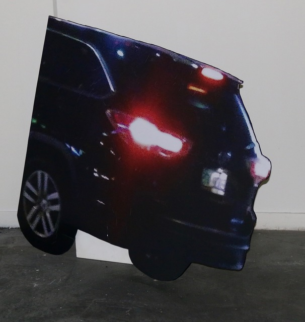 , 'Untitled (Black Car),' 2016, Robert Kananaj Gallery