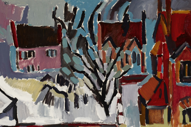 , 'In Winter (Manchester),' nd, Ben Uri Gallery and Museum