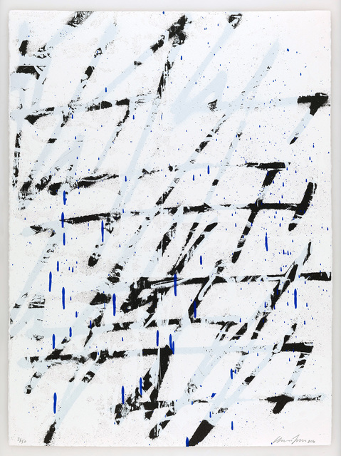 Chris Succo, 'Shameless Is A Talent [Pacific Ocean Blue], 2016', 2016, Print, Three colour silkscreen on Saunders Waterford high white 300gsm paper, ICA London Benefit Auction