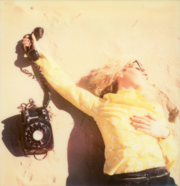 , 'Secretary on the Run - Contemporary, Polaroid, Photograph, Figurative, Women, 21st Century,' 2015, Instantdreams
