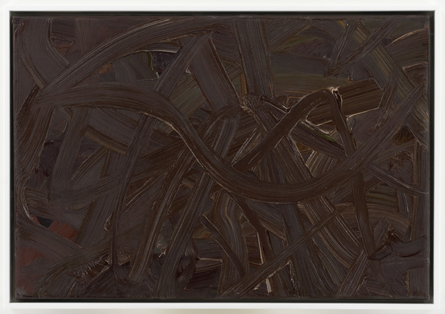 , 'Inpainting (brown),' 1972, Setareh Gallery