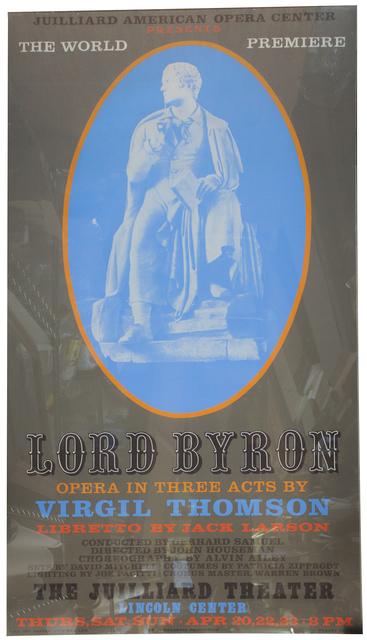 Robert Indiana, 'Lord Byron', 1972, ArtWise
