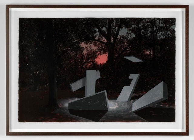 Daniel Arsham, 'Falling back', 2008, Galerie Ron Mandos