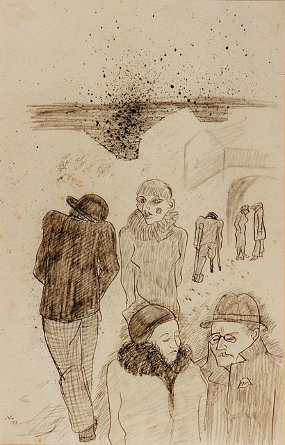 Bruno Voigt, 'Madame Merzenich', 1931, Galerie Brockstedt