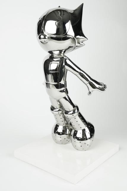 Jerkface, 'Astrocat (Silver)', 2019, Taglialatella Galleries