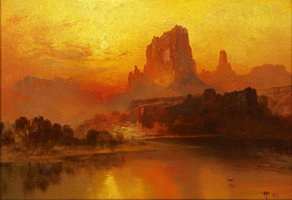 Image result for the golden hourThomas Moran