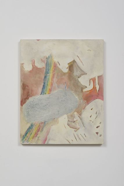 Dan Bayles, 'Minerva with Cloud and Rainbow', 2015, Painting, Flashe and acrylic on canvas, Rema Hort Mann Foundation Benefit Auction