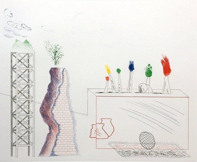 David Hockney, 'A Tune', 1976-1977, Portfolio