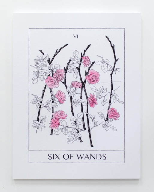 , 'Six Of Wands,' 2017, Ever Gold [Projects]