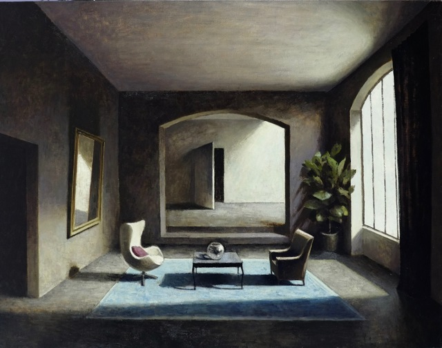 , 'Le tapis bleu ,' , Hugo Galerie
