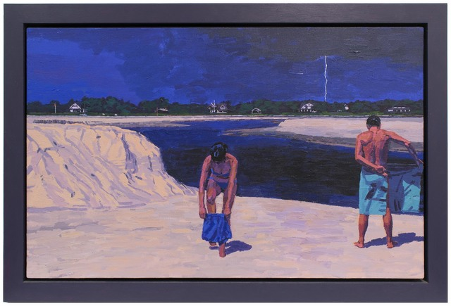 , 'Inlet: Approaching Storm,' , Betty Cuningham