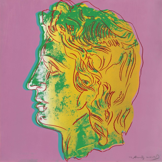 Andy Warhol, 'Alexander the Great: one plate', 1982, Christie's