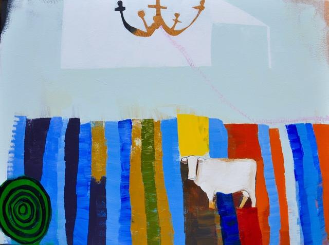 , 'Blue Sky,' 2017, M.A. Doran Gallery