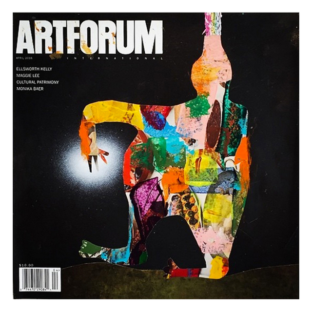 , 'Altered Artforum #8,' 2016, Klowden Mann