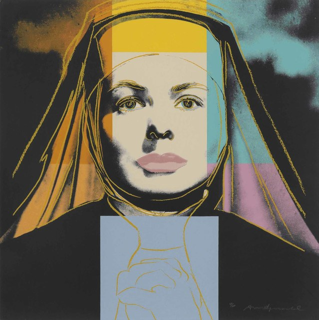 Andy Warhol, 'The Nun, from: Ingrid Bergman', 1983, Christie's