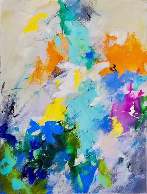 Joni Sarah White, 'Joy in Color', 2018, IAZ Art Gallery