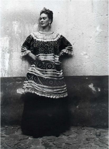 , 'Frida Kahlo en la Casa Azul Coyoacan, Mexico,' 1944, Matthew Liu Fine Arts