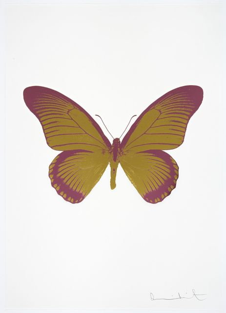 , 'The Souls IV - Oriental Gold - Loganberry Pink,' 2010, Samuel Owen Gallery