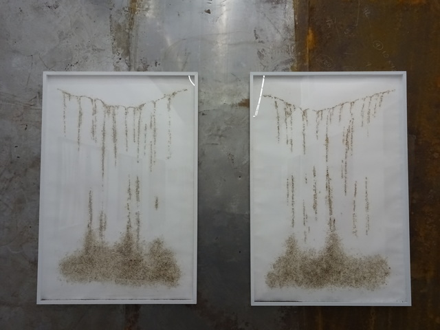 , 'Waterfall 1 and 2,' 2015, Clima Art Gallery