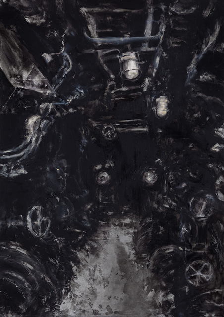 , 'Anxiliary Machinery Room,' 2017, Sopa Fine Arts