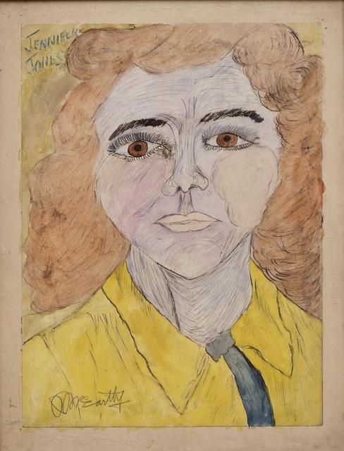 Justin McCarthy, 'Jennifer Jones (Oscar Winning Actress)', ca. 1940's, ZQ Art Gallery