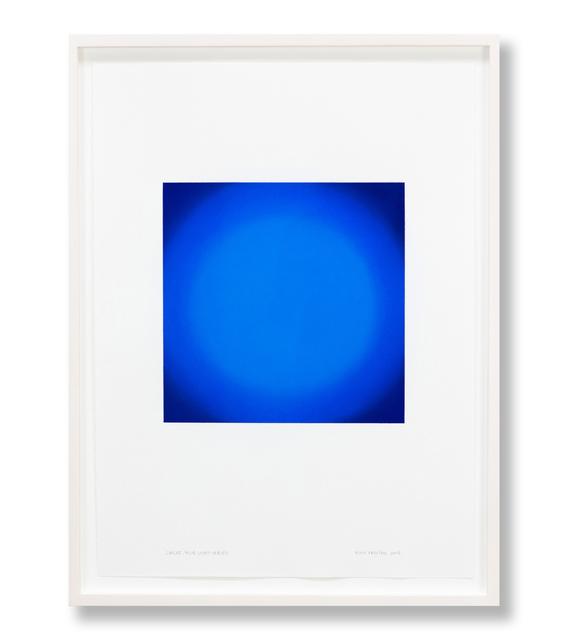 , 'Circle, Blue Light Series,' 2018, Edward Cella Art and Architecture