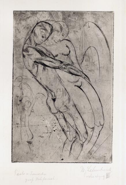 , 'Paolo und Francesca,' 1913, Charles Nodrum Gallery