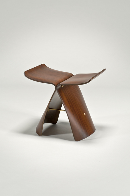 Sori Yanagi, 'Butterfly Stool', 2002, Design/Decorative Art, Bent plywood, Rosewood, brass, The Modern Archive