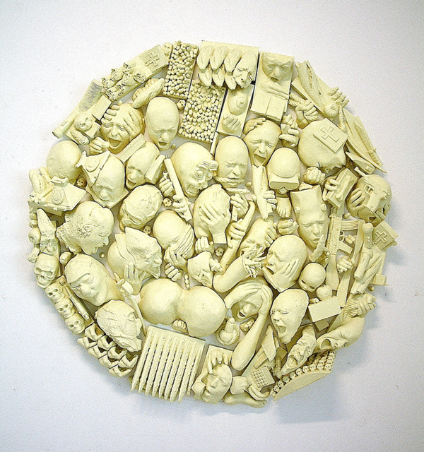 , 'Tondo Objets,' 2012, Luisa Catucci Gallery