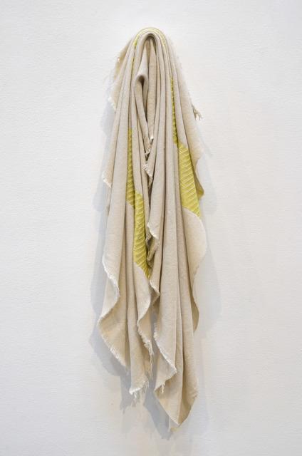 , 'Yellow Folds,' 2016, Shoshana Wayne Gallery