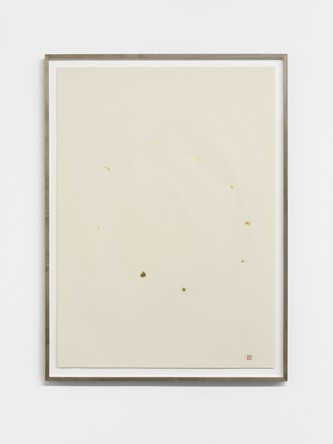 , 'Counting Gold,' 1995, Buchmann Galerie Lugano