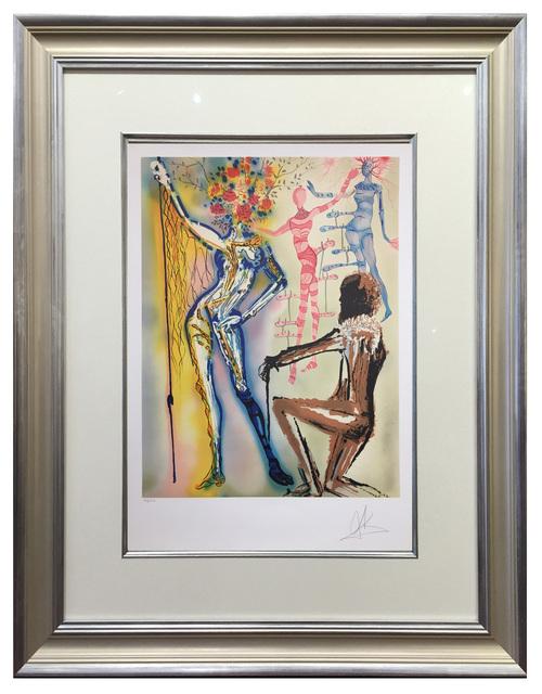 Salvador Dalí, 'The Ballet of Flowers', 1980, Elliott Gallery