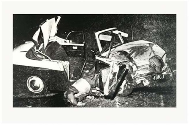 , 'Car Crash ,' 1978-1979, Leila Heller Gallery