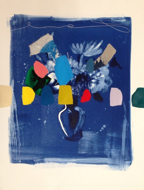 , 'Indigo Bouquet (in rainbow),' 2018, Kahn Gallery