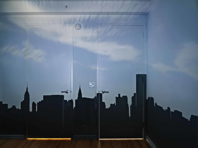 , 'Camera Obscura: Late Afternoon View of the East Side of Midtown Manhattan,' 2014, Edwynn Houk Gallery