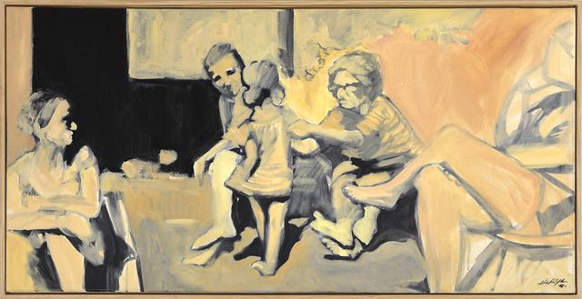, 'Spanish Family in the Yard,' 2016, Jen Mauldin Gallery