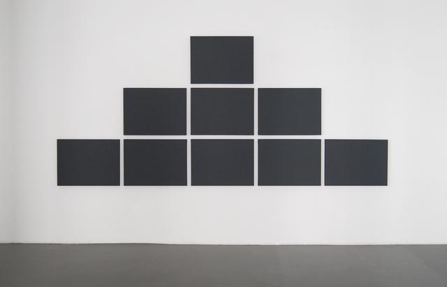 , 'Pyramid Grid Painting,' 2011, Konrad Fischer Galerie