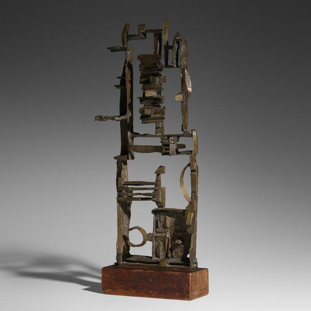 Dorothy Dehner, 'Untitled', 1962, Sculpture, Cast bronze, pine, Rago/Wright