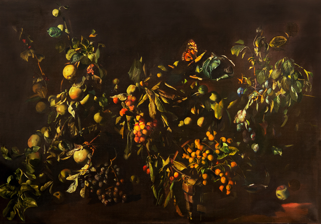 , 'Still Life with Fruits and Butterfly,' 1984, Kalman Maklary Fine Arts