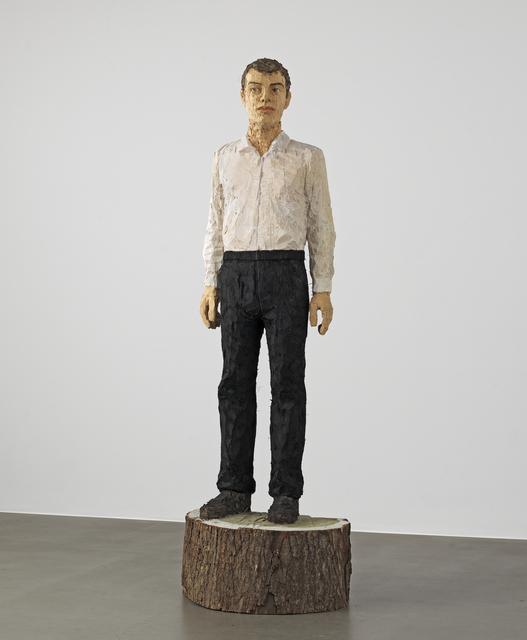 , 'Big man with white shirt,' 2015, Galerie Forsblom