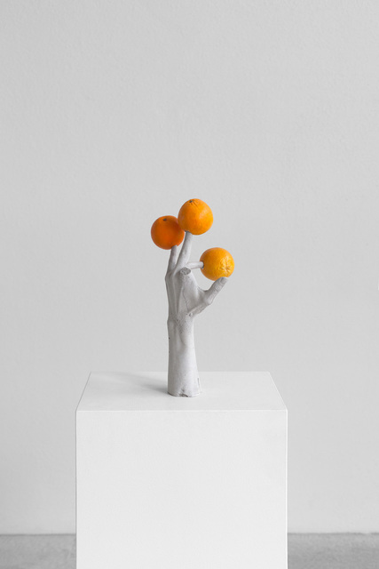 , 'One Minute Forever (hands/fruits),' 2019, Lehmann Maupin