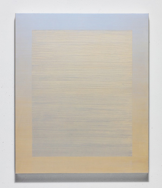 , 'Interference (cerulean-gold),' 2018, K. Imperial Fine Art