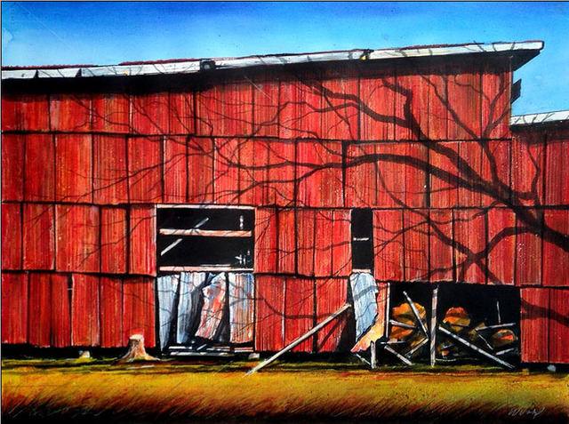, 'Red Wall I,' , Greg Thompson Fine Art