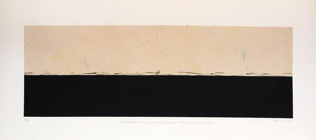 , 'Horizon,' 2001, Gallery Espace