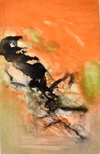 Zao Wou-Ki 趙無極, 'Composition II, from: Canto Pisan', 1972, Gilden's Art Gallery
