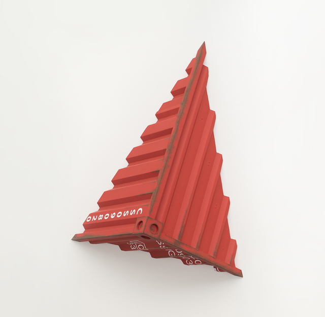 , 'Incrustación Rojo,' 2018, LGM Arte Internacional